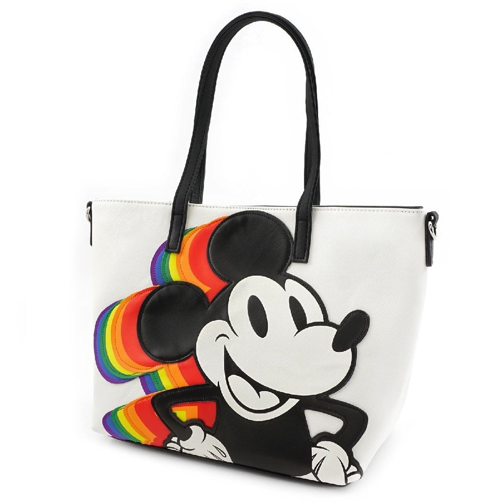 Loungefly x Disney Mickey Mouse Rainbow Handbag