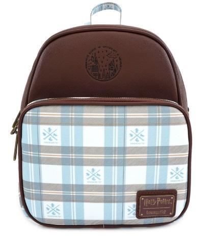 Loungefly x Harry Potter Blue Check Mini Backpack