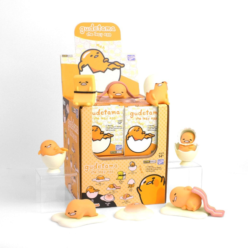 Gudetama x The Loyal Subject Articulated Action Vinyls Mystery Box Wave 2