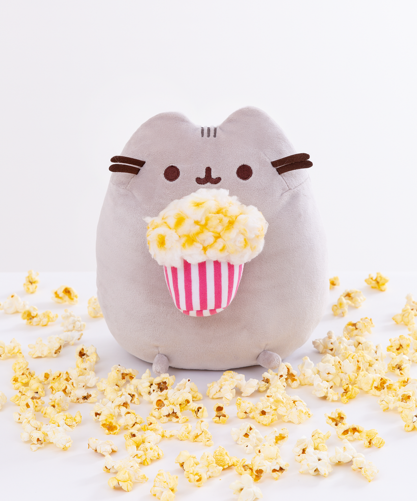 Pusheen Popcorn Plush Toy