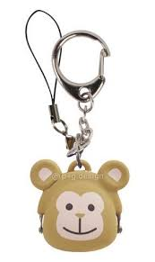 Mimi Pochi friends mini silcon purse monkey
