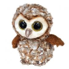 BEANIE BOOS MEDIUM PERCY - BARN OWL