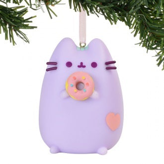 Pusheen Hanging Ornament 2019 - Pastel Purple