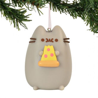 Pusheen Hanging Ornament 2019 - I Love Pizza