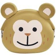Mimi Pochi friends silicon purse monkey