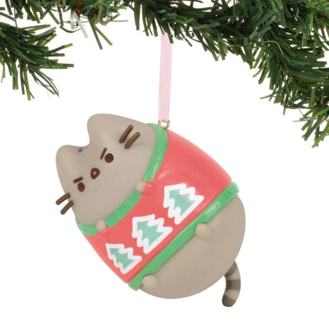 Pusheen Hanging Ornament 2019 - Ugly Sweater