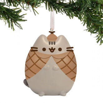 PUSHEEN CHRISTMAS ORNAMENT DETECTIVE