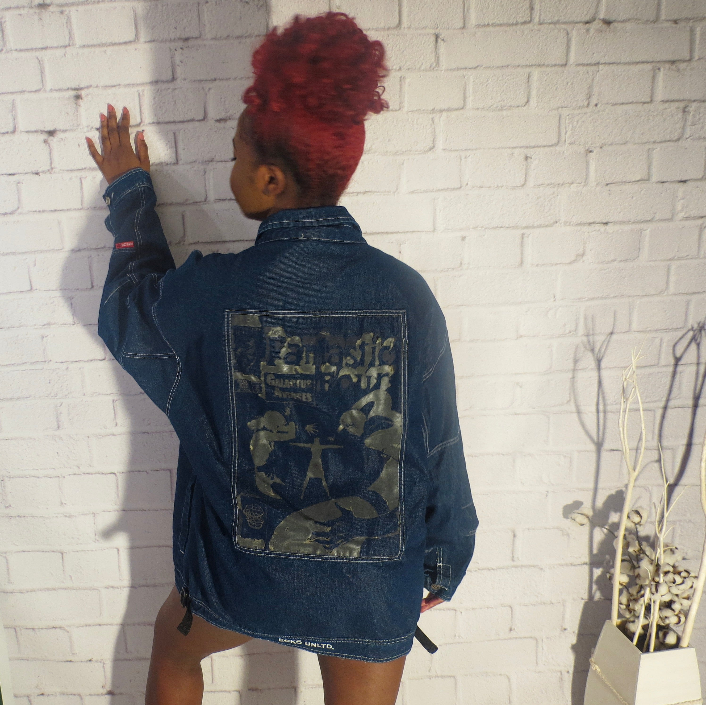 An Ecko'n Denim Jacket