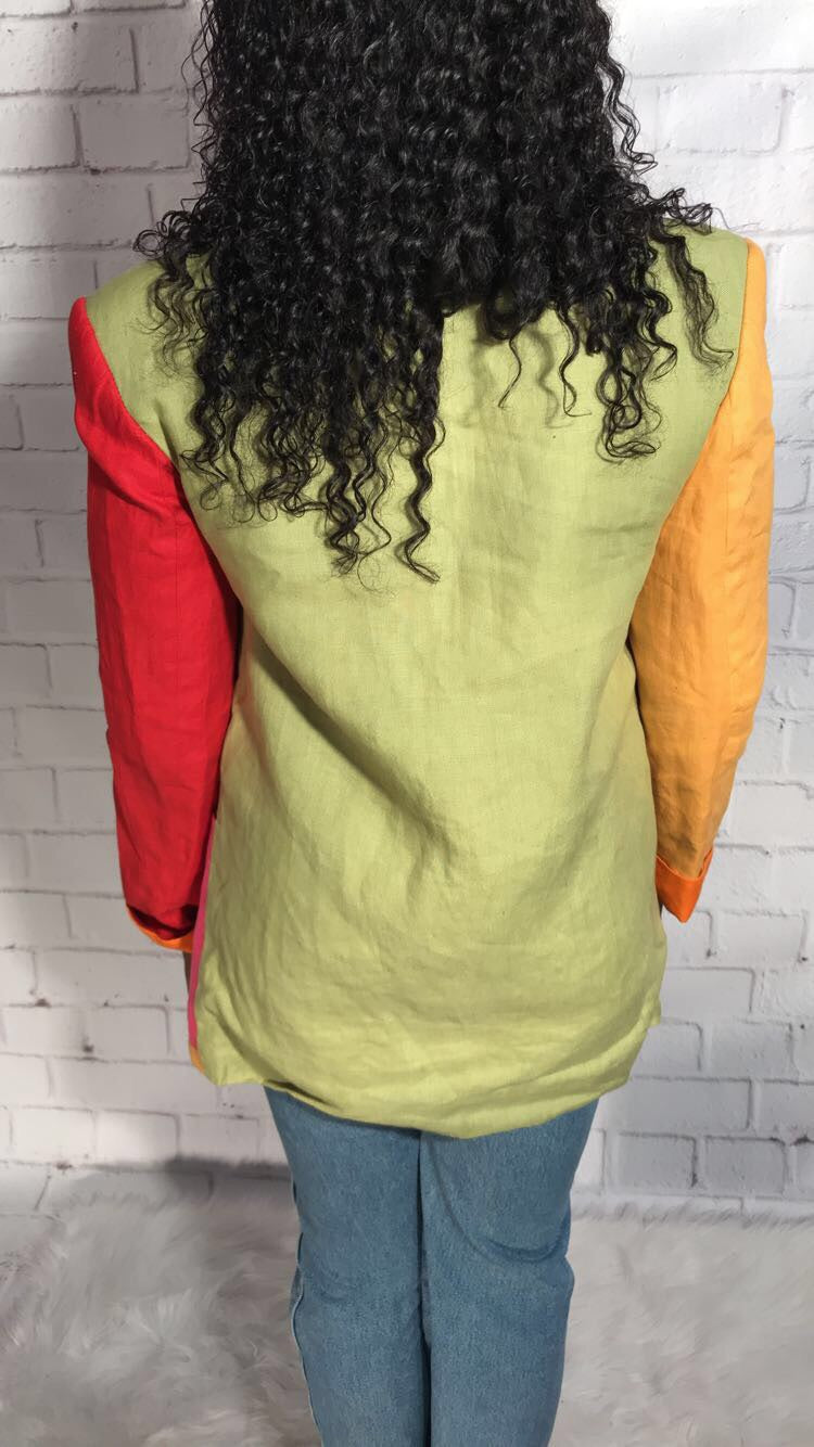 In Living Colors Blazer