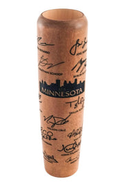 Cherry w/ Black Minnesota MLBPA 2019 Team Signature Mug - Limited Edition - Lumberlend Co.