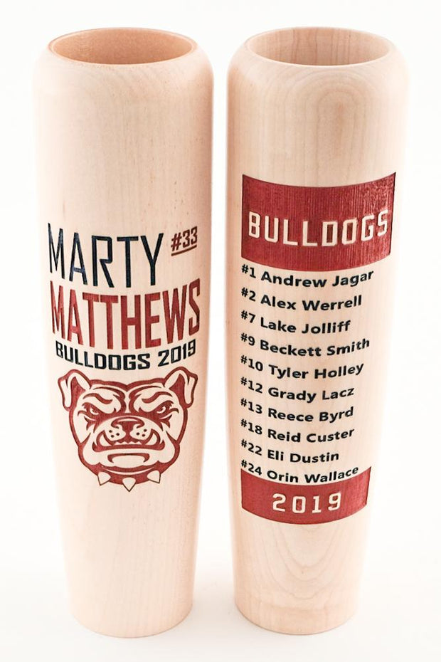 Team Roster Bat Mugs - Lumberlend Co.