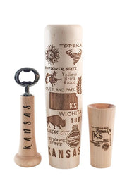 Kansas Bat Mug - Lumberlend Co.