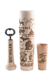 Michigan Bat Mug - Lumberlend Co.