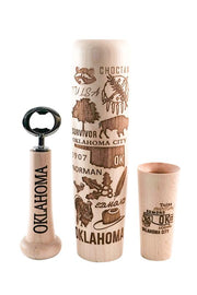 Oklahoma Bat Mugs - Lumberlend Co.