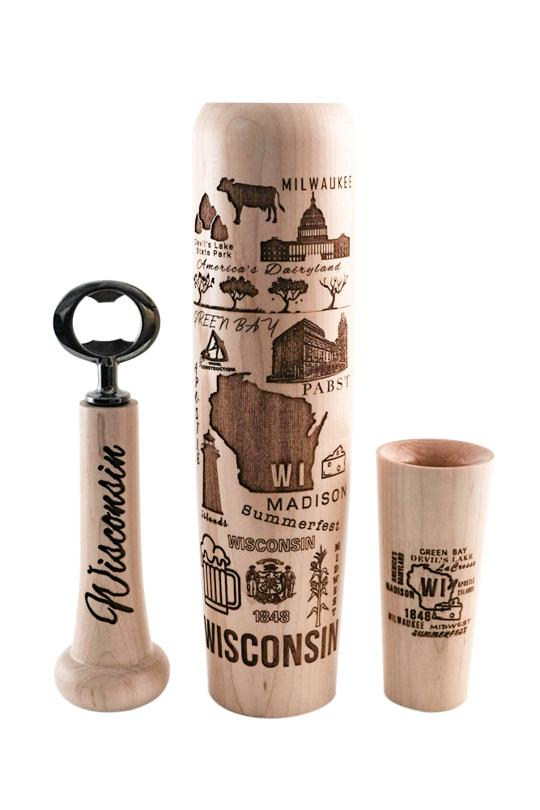 Wisconsin Bat Mug - Lumberlend Co.