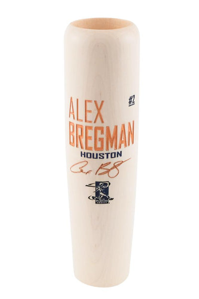 Natural W/ Paint Alex Bregman - Locker Room Edition - Lumberlend Co.