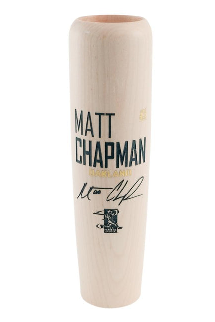 Matt Chapman - Locker Room Edition MLBPA Lumberlend Co. Natural W/ Paint