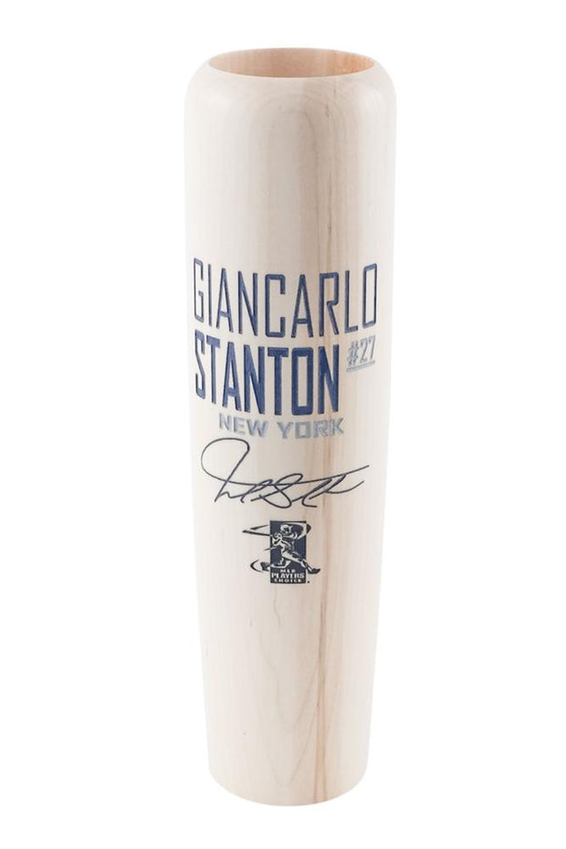 Giancarlo Stanton - Locker Room Edition MLBPA Lumberlend Co. Natural W/ Paint