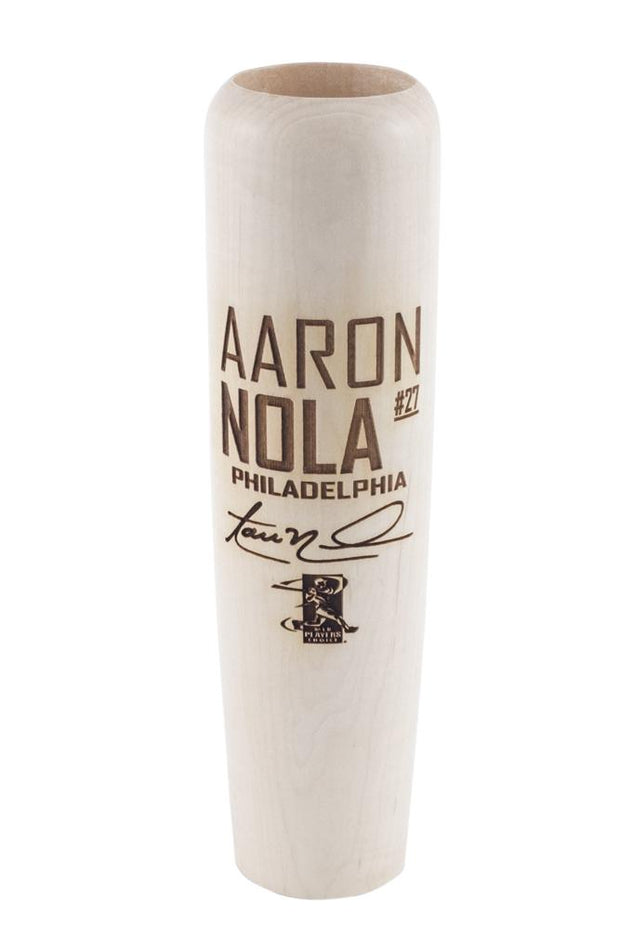 Aaron Nola - Locker Room Edition MLBPA Lumberlend Co. Natural