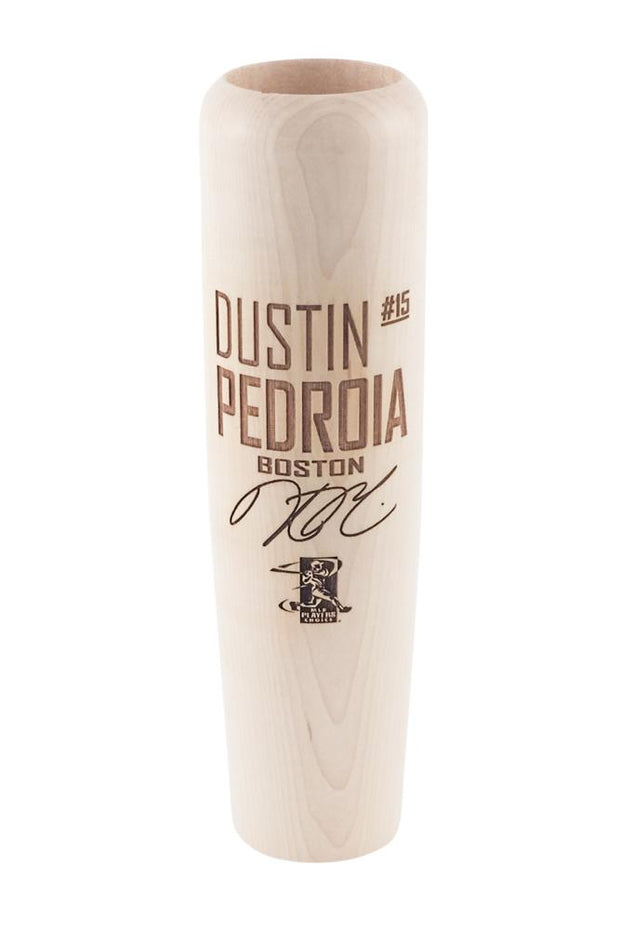 Dustin Pedroia - Locker Room Edition MLBPA Lumberlend Co. Natural