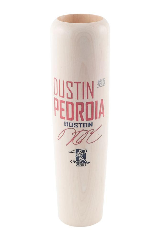 Natural W/ Paint Dustin Pedroia - Locker Room Edition - Lumberlend Co.
