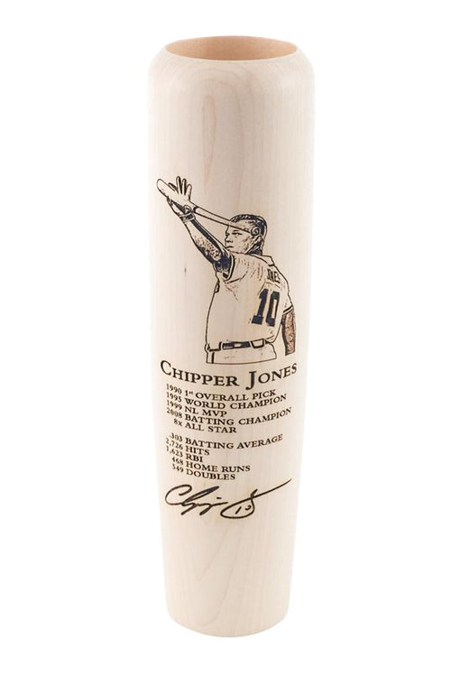 Chipper Jones - Career Achievements Lumberlend Co.