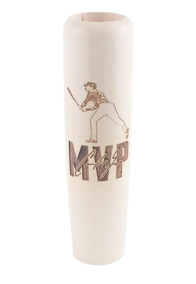 Christian Yelich - Most Valuable Player Bat Mug MLBPA Lumberlend Co.