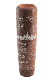 Mahogany w/ Silver Chicago W MLBPA 2019 Team Signature Mug - Limited Edition - Lumberlend Co.