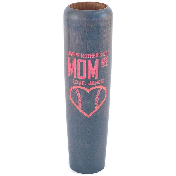 Mothers Day Gift Idea, Mothers Day Gift, Baseball Bat Mug, Baseball Gift for Mom, Gift for her, Custom Gift
