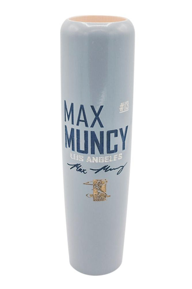 Max Muncy - Locker Room Edition MLBPA Lumberlend Co. Painted (Gray)