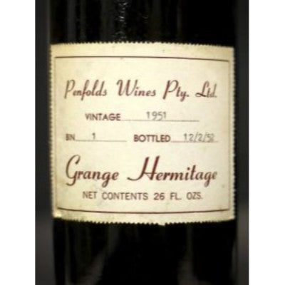 Penfolds Grange Purchase