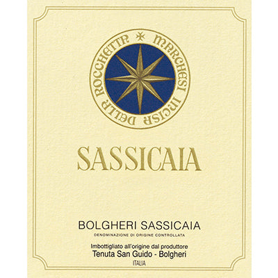 The 1985 Sassicaia Search