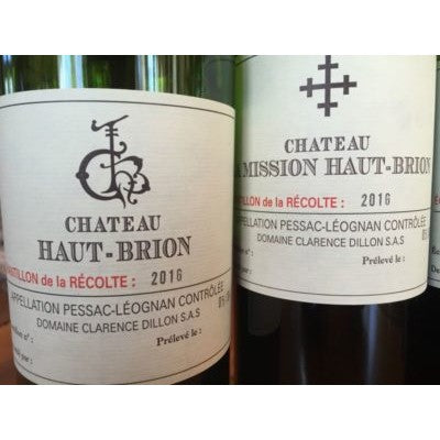 Only 10% Price Increase for Haut-Brion, Mouton Rothschild 2016
