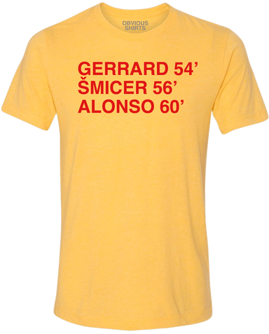 6 MINUTES IN ISTANBUL. (GERRARD) - OBVIOUS SHIRTS: For the fans, by the fans
