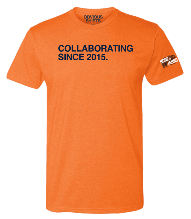 COLLABORATING SINCE 2015. - OBVIOUS SHIRTS.