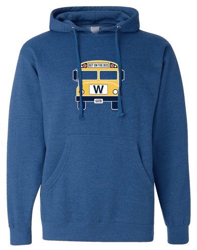 GET ON THE BUS (HOODED SWEATSHIRT) - OBVIOUS SHIRTS: For the fans, by the fans