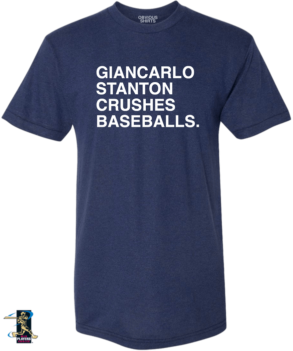 GIANCARLO STANTON CRUSHES BASEBALLS. - OBVIOUS SHIRTS: For the fans, by the fans
