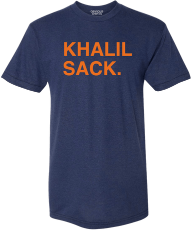 KHALIL SACK. - OBVIOUS SHIRTS.