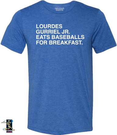 LOURDES GURRIEL JR. EATS BASEBALLS FOR BREAKFAST. - OBVIOUS SHIRTS: For the fans, by the fans