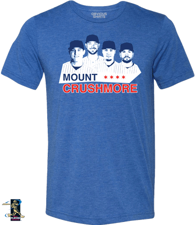 MOUNT CRUSHMORE - OBVIOUS SHIRTS: For the fans, by the fans