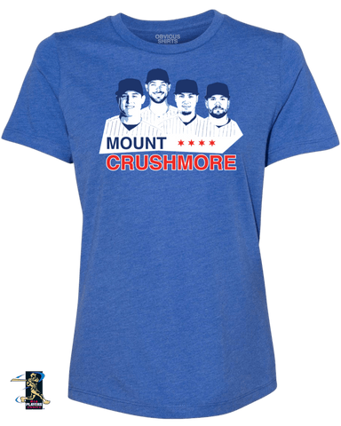 MOUNT CRUSHMORE (WOMEN'S CREW) - OBVIOUS SHIRTS.