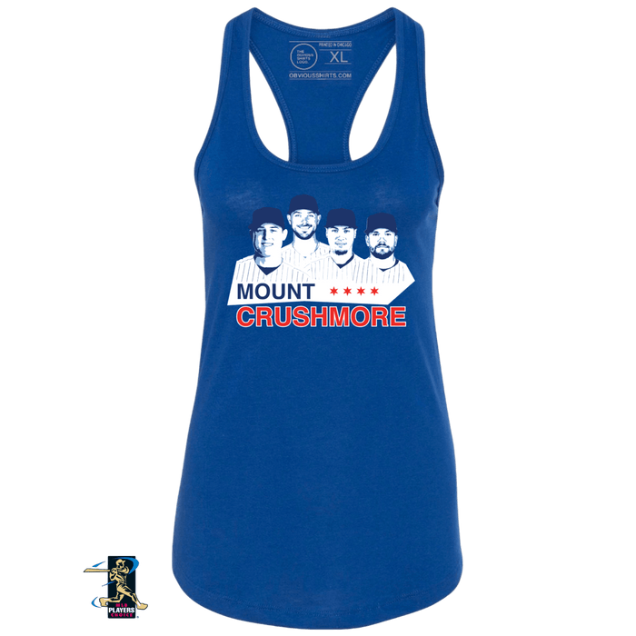 MOUNT CRUSHMORE (WOMEN'S TANK) - OBVIOUS SHIRTS: For the fans, by the fans