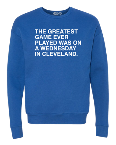 THE GREATEST GAME EVER PLAYED. - OBVIOUSSHIRTS