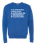 THE GREATEST GAME EVER PLAYED. (CREW SWEATSHIRT) - OBVIOUSSHIRTS