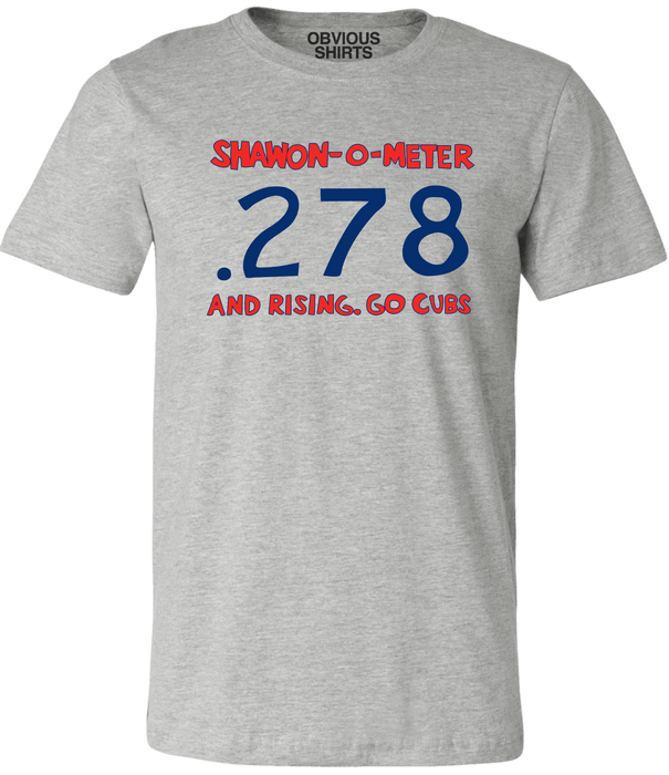 SHAWON-O-METER - OBVIOUS SHIRTS: For the fans, by the fans