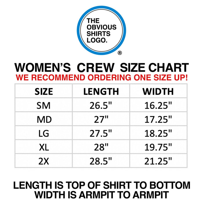 SILVY STRONG (WOMEN'S CREW) - OBVIOUS SHIRTS: For the fans, by the fans