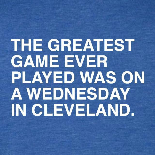 THE GREATEST GAME EVER PLAYED. (WOMEN'S CREW) - OBVIOUS SHIRTS: For the fans, by the fans