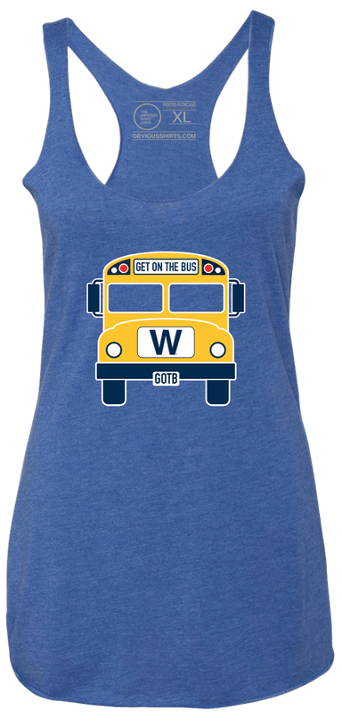 THE W BUS (WOMEN'S TANK) - OBVIOUS SHIRTS.