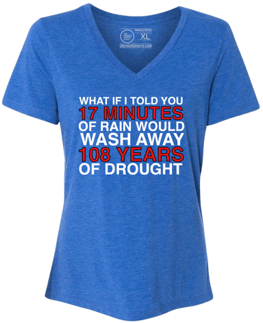 WHAT IF I TOLD YOU...(WOMEN'S V-NECK) - OBVIOUS SHIRTS.