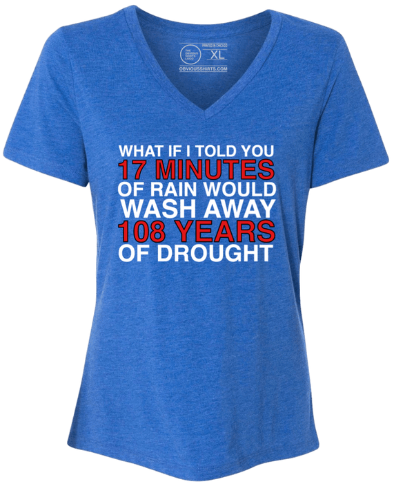 WHAT IF I TOLD YOU...(WOMEN'S V-NECK) - OBVIOUS SHIRTS: For the fans, by the fans